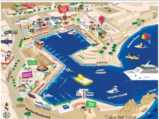 marina fiesta resort map cabo cruise la to panama to miamai pinterest cabo cruises and panama