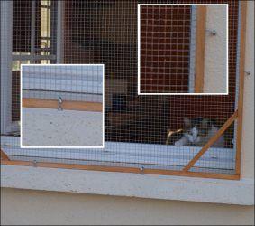 Moustiquaire De Protection Pour Les Chats Protection Fenetre Chat Moustiquaire Moustiquaire Fenetre