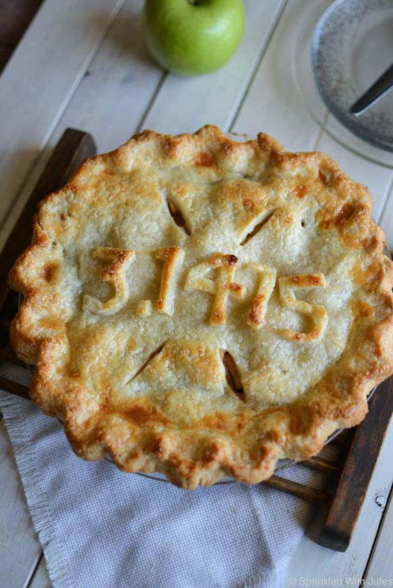 Bourbon Apple Pie for Pi Day! / Sprinkled with Jules