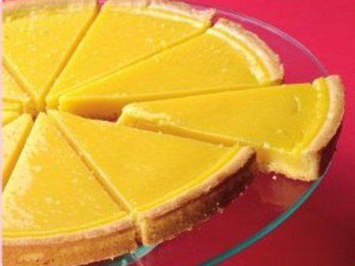 Tarte aux citron, pâte à tarte au sésame