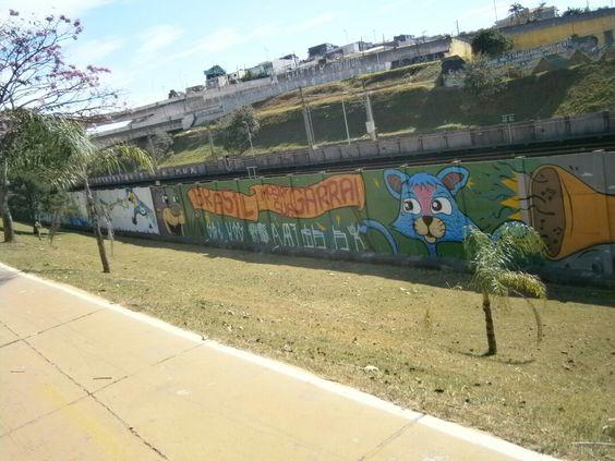 Grafite de ruas de sao paulo