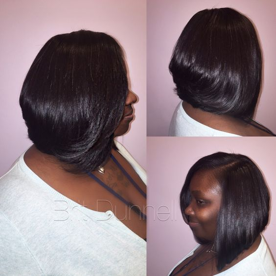Short Bob / sew in the Brit Dunnell