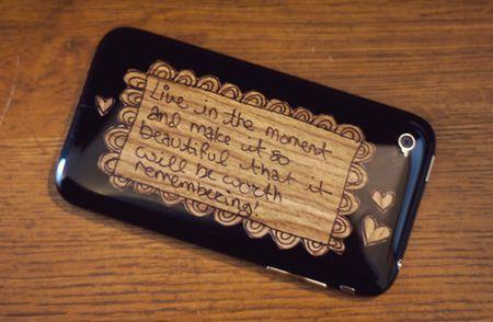 DIY phone decorations
