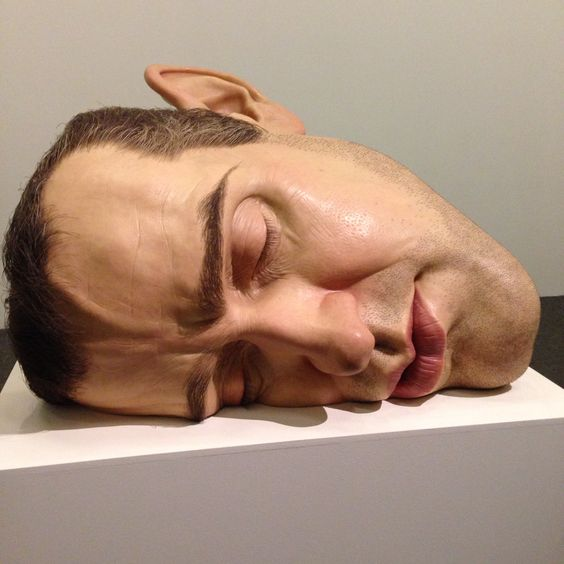 Ron Mueck exposition, São Paulo, Brazil