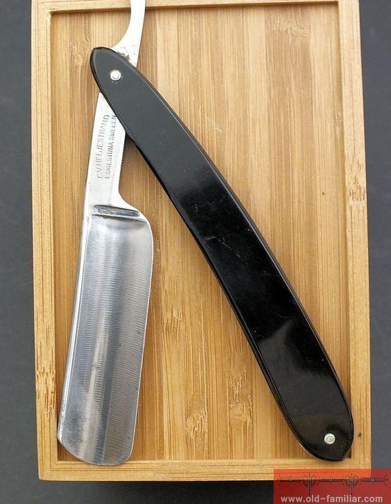 C.V. Heljestrand  MK No133 Rasiermesser ,straight razor, coupe choux,