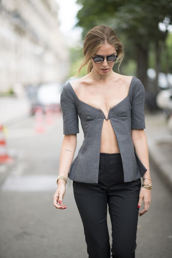 "Chiara Ferragni Just Wore the ""Look-Back-at-It"" Top of the Season"
