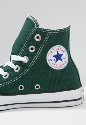 Converse CHUCK TAYLOR ALL STAR - Sneaker high - gloom green - Zalando.de
