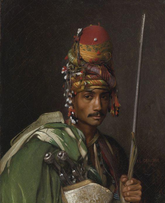 JEAN-LÉON GÉRÔME FRENCH 1824 - 1904 BASHI-BAZOUK: