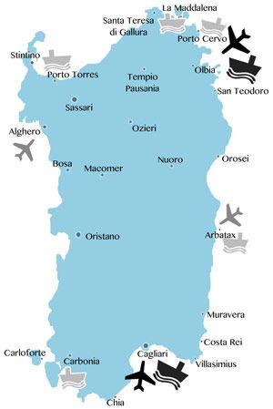 Alles Rund Um Sardinien Und Den Urlaub Infos Bilder Regionen