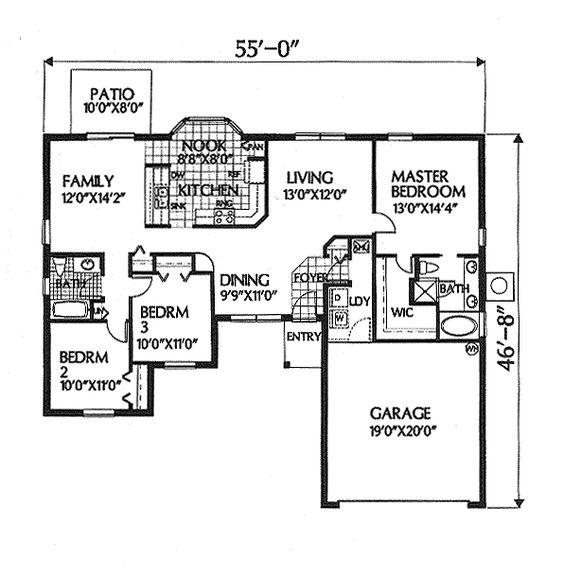 Florida House Plan chp-5959 at COOLhouseplans.com