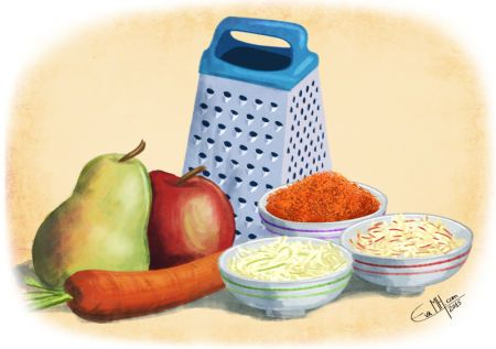 Eva Morales - Grated Food EMH