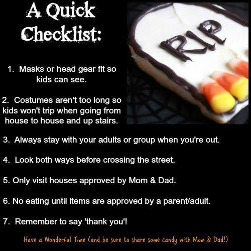 5 Things To Do Before Halloween Night Halloween Activities For Kids Halloween Safety Tips Halloween Games Activities