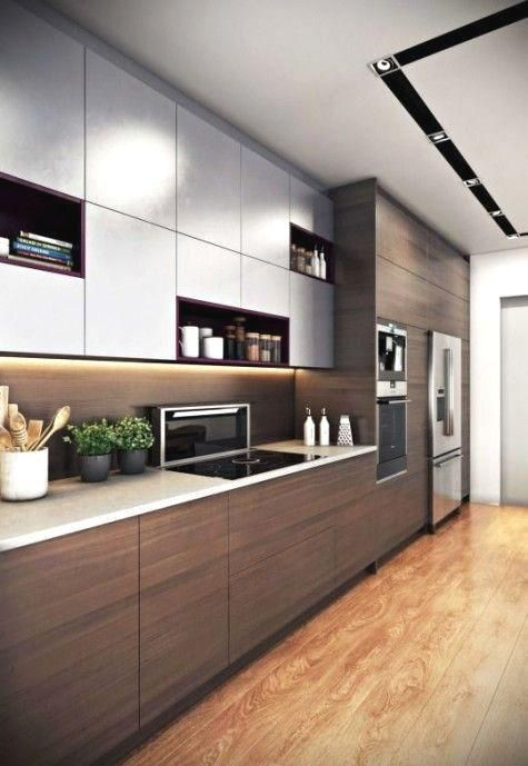 Bicolore Colore Cucina Dellarmadio Mobili Moda Pieno Svolgimento Cucina Bicolore Mob Nel 2020 Progetti Di Cucine Design Cucine Ristrutturazione Cucina