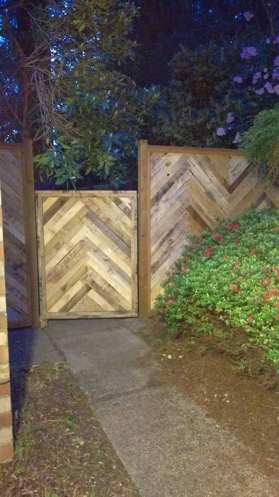 These pallets are designed differently to get this look to them and they definitely will create a professional looking fence. You feel like you have something great for an inexpensive price.