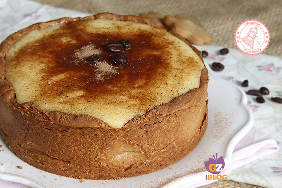 la crostata cappuccino è una ricetta facile per una torta golosissima con una base di pasta frolla al caffè e una crema di latte delicatissima.
