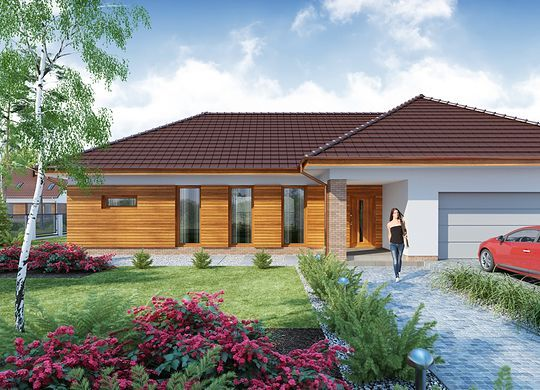 Projekt Domu Sonia 2 Ps Architecture House Styles House Plans
