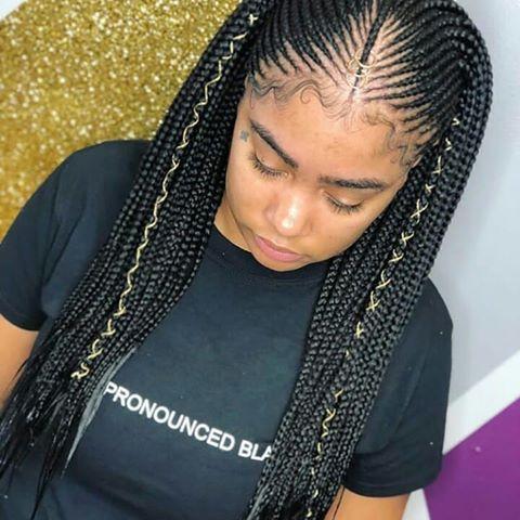 Layered Feeding Braids 50shadesofbraids Layeredfeedins Follow Ghan African American Braids African American Braided Hairstyles Braided Hairstyles