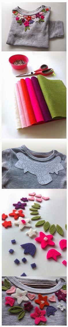 Ideias para dar nova vida às suas peças de roupa antigas ou para personalizar as suas peças favoritas.                          Boas Costur...: