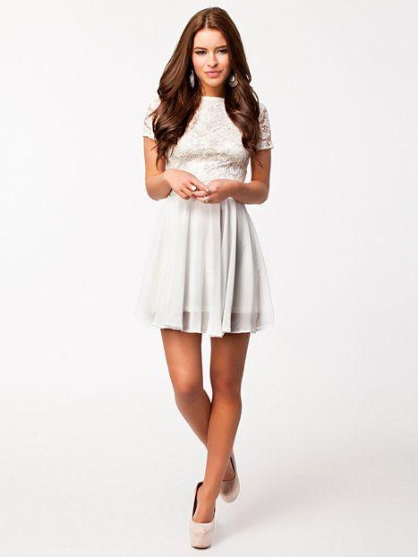 White lace dress john zack