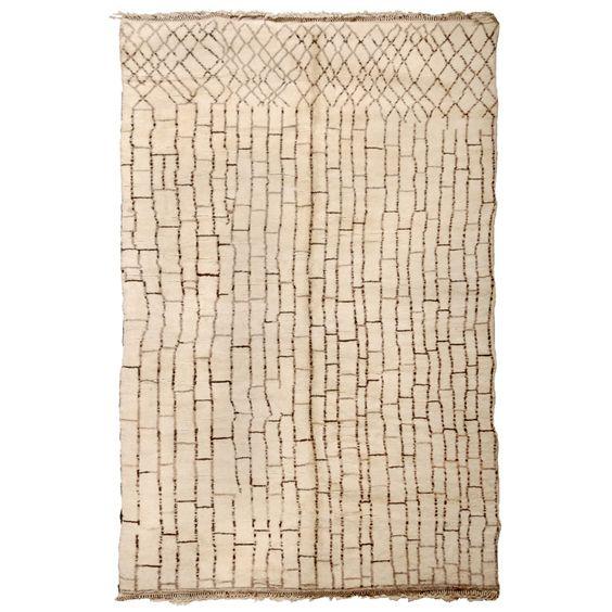 Vintage Moroccan rug - Beni Ourain