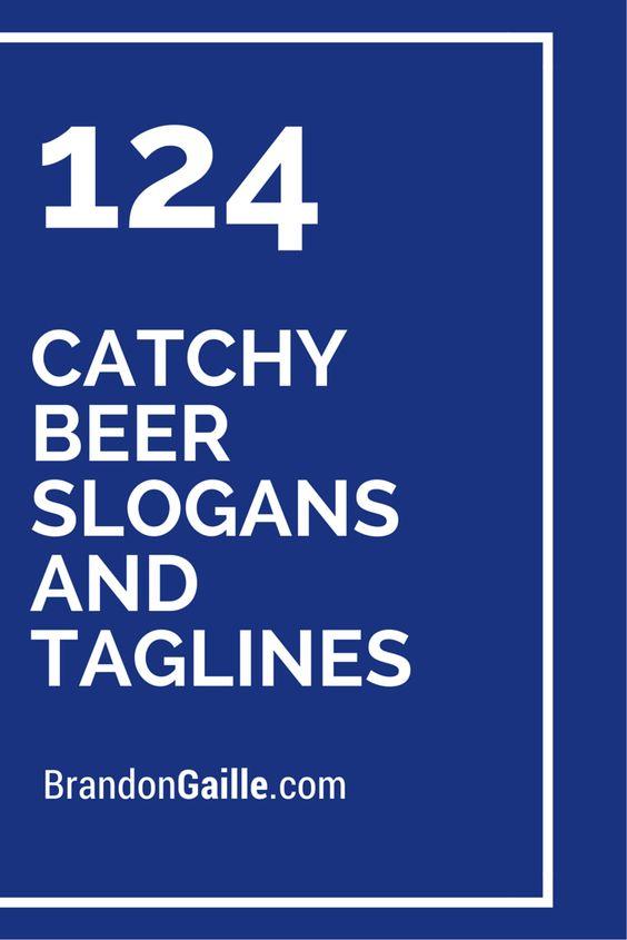 Beer slogans and Beer on Pinterest