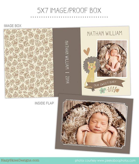 Image Box - Proof Box Photoshop Template for Photographers #Image ...