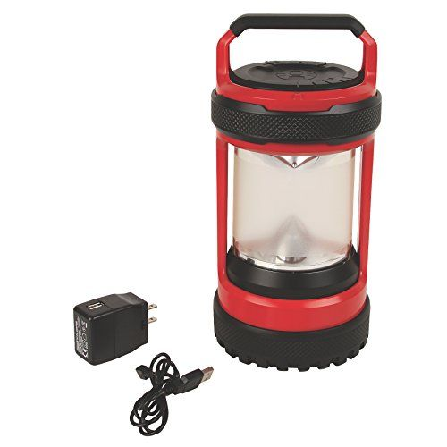 Coleman Company Conquer Spin 550 Lm Rechargeable Led Lantern Redblack You Can Find Out More Det Led Lantern Camping Lanterns Rechargeable Lantern