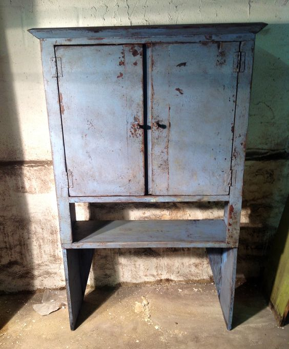 Primitive Kitchen Table And Chairs: Primitive Country Furniture, Folk Primitive Decor, Painted