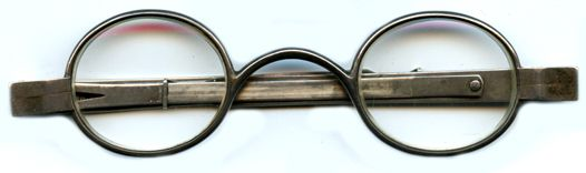 ... Pair of 200 year-old eyeglasses - #Sweet.