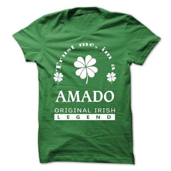 [SPECIAL] Trust Me Im A AMADO St. Patricks Day  - #cool gift #hostess gift. [SPECIAL] Trust Me Im A AMADO St. Patricks Day , candy gift,quotes funny. CHEAP PRICE =>...