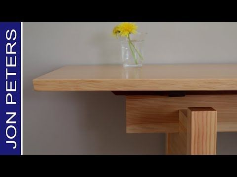 Make A Sofa Table Entrance Table With Floating Top Diy Furniture Custom Furniture Woodworking Projects Diy