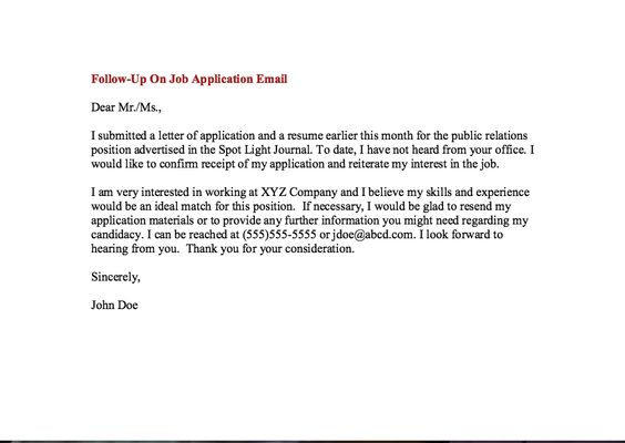 job follow up email examples - http\/\/resumesdesign\/job-follow - resume for apprentice electrician