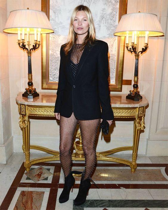 Kate Moss estrena la segunda colección de Saint Laurent