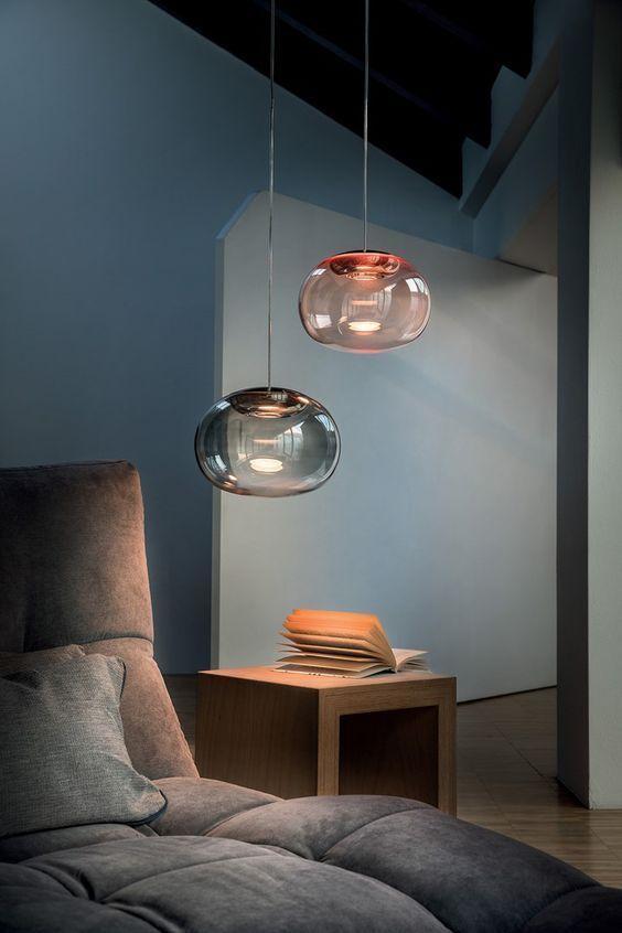 22 Modern And Romantic Bedroom Lighting Ideas In 2020 Bedroom Ceiling Light Mid Century Floor Lamps Office Interior Design