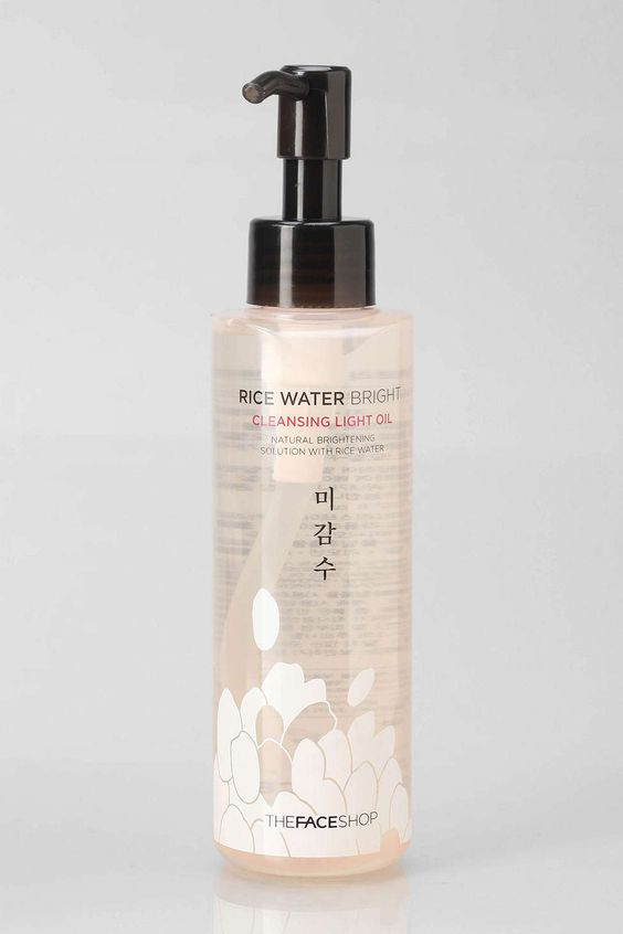 The Face Shop Rice Water Bright Cleansing Light Oil | The