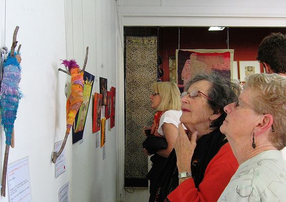 Exhibition Opening : Timeless Textiles, Islington NSW March 2012
