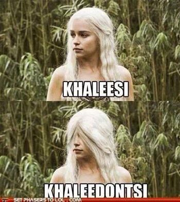 Game of Thrones humor