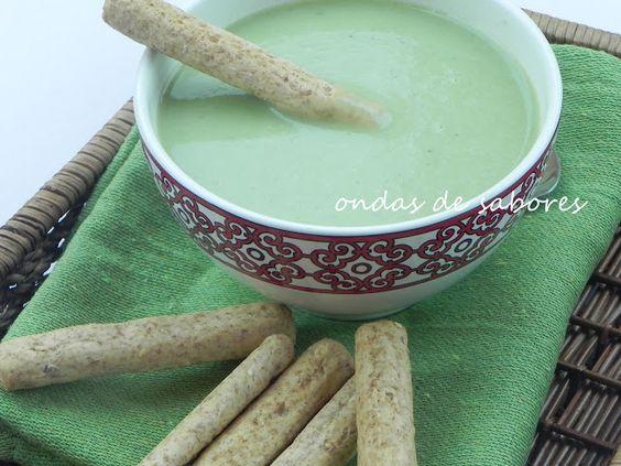 Sopa de Ervilha e Hortelã no Microondas