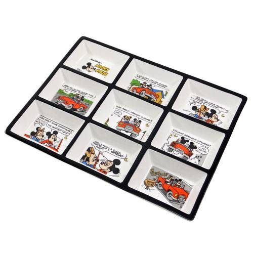 Mickey Mouse Comic Plate