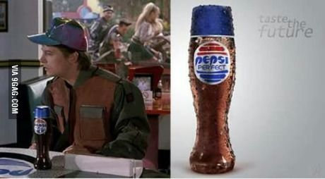 Pepsi's clever new marketing scheme: Made the bottle that *Back to the Future 2* predicted would be in 2015!