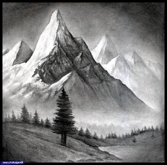Resultado De Imagen De Mountain Drawing Cizim Egitimleri Peyzaj Duzenlemesi Fikirleri 3d Cizimler