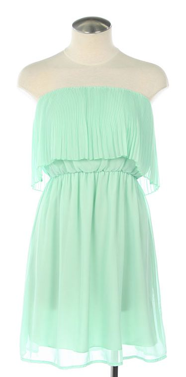 Mint green. love it.