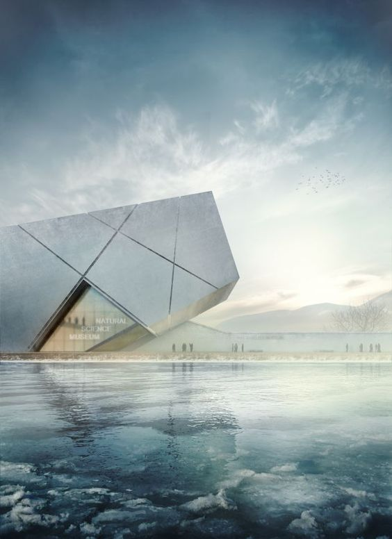 Futuristic architecture 3d and architecture on pinterest - 3d architectural visualization ...