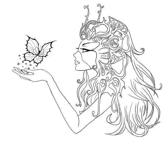 Get Everything You Need Starting At 5 Fiverr In 2021 Mermaid Coloring Pages Coloring Books Fairy Coloring