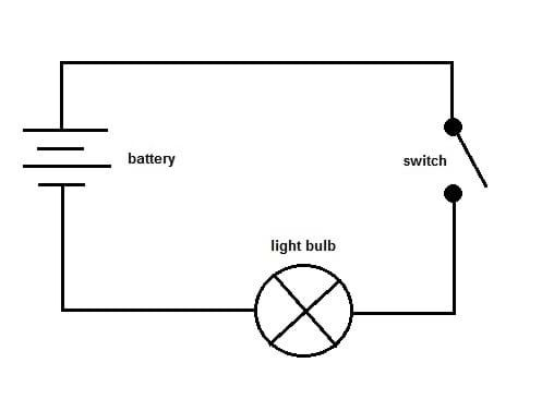 Simple Schematic Diagram - wiring diagram on the net on