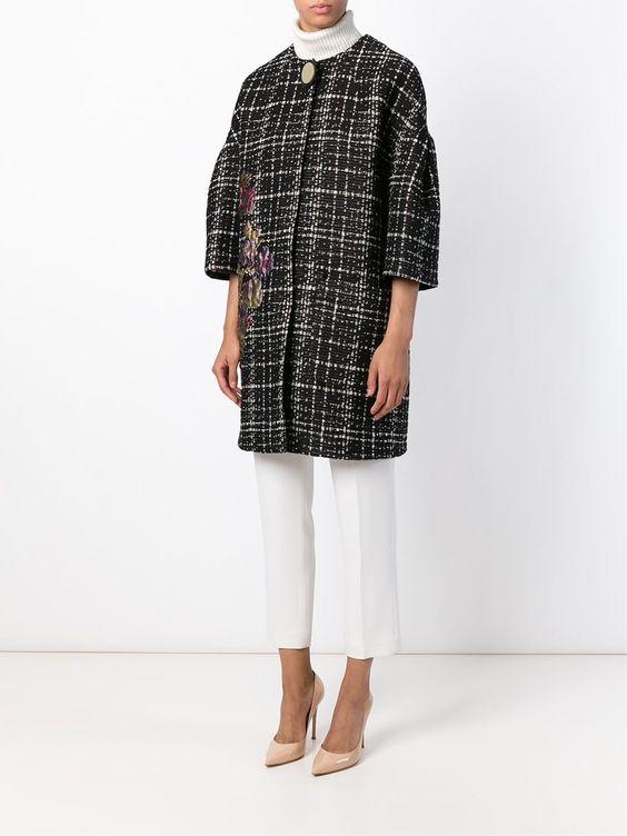 Erika Cavallini Semi Couture 'eginald' Mantel - Fiacchini - Farfetch.com
