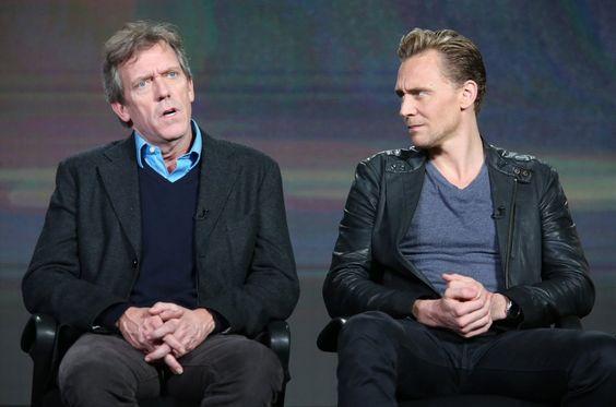Hugh Laurie & Tom Hiddleston, TCA Press Tour 2016