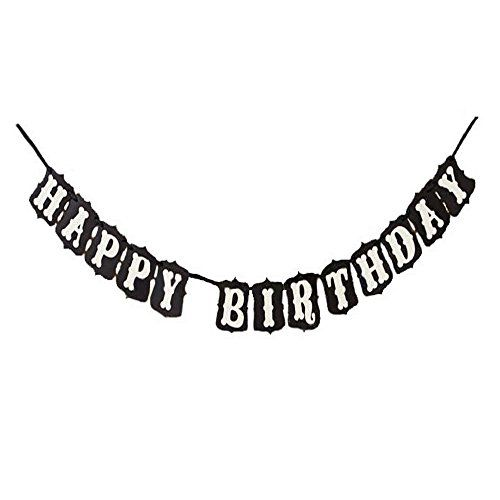Happy Birthday - Vintage Garland Birthday Party Jointed Flag Banner Photography Prop Sign Decoration