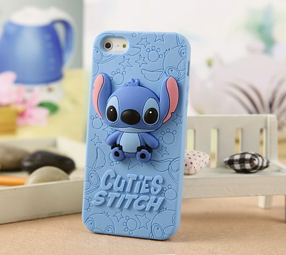 Fundas Disney para iPhone 7 7 Plus #Disney #WaltDisney #Stitch