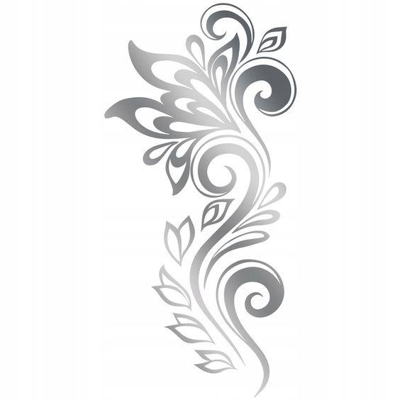 Dekoracja Naklejki Lustrzane Na Sciane Scienne L25 Tribal Tattoos Tattoos Tribal
